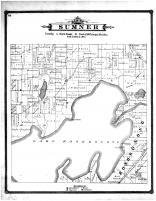 Sumner Township, Lake Koshkonong, Jefferson County 1887